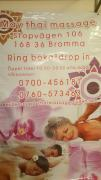 massage jakobsberg bromma thai