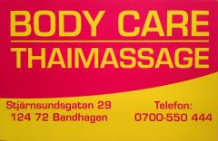 erotisk thaimassage göteborg body care