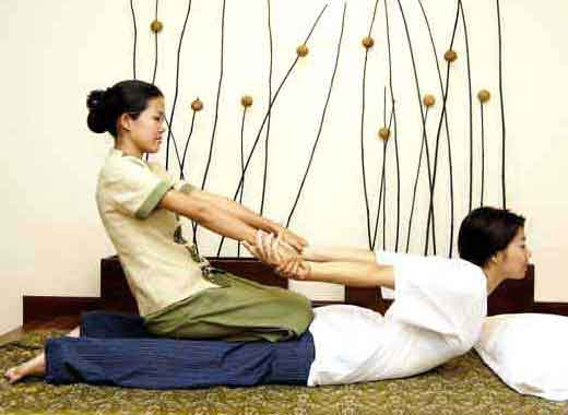 thaimassage med he japansk massage